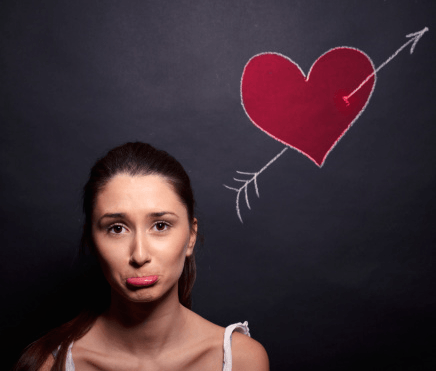 malheureuse en amour