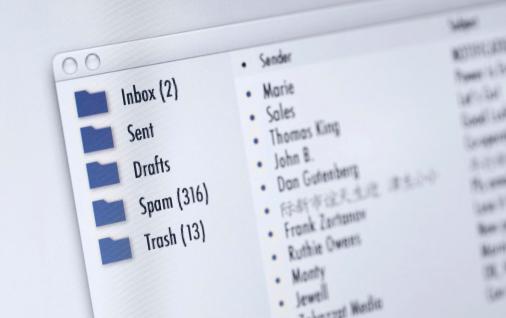 ouverture boite mail
