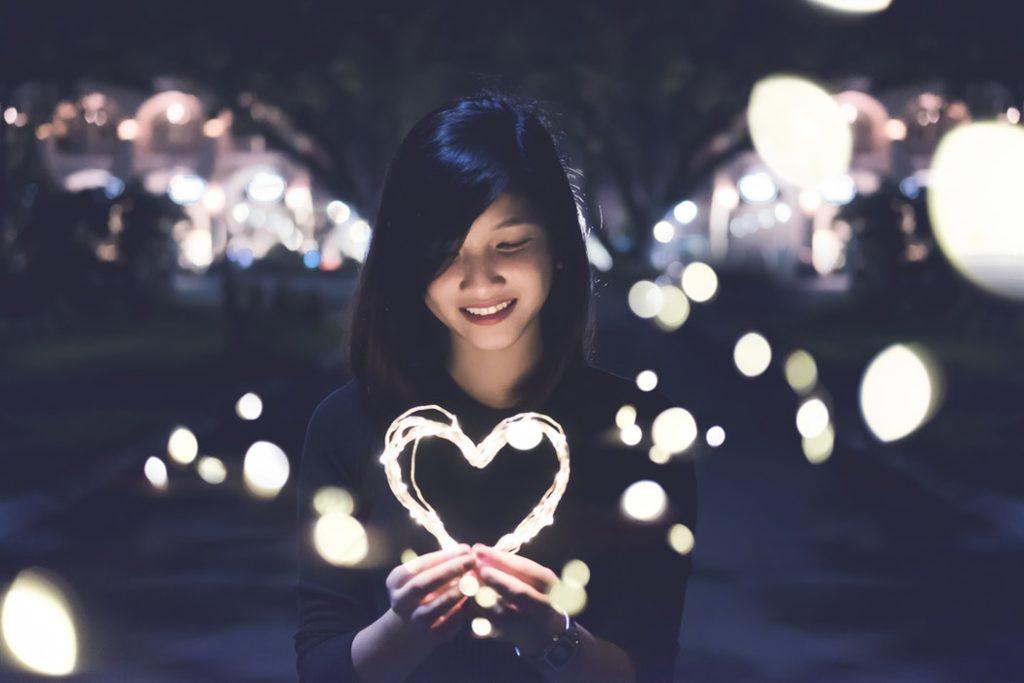 fille amoureuse